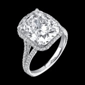 5.01ct Cushion