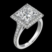 5.05ct Princess